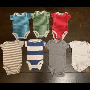 "Carter's One Pieces - Carter's Newborn ""Stripes"" bundle"